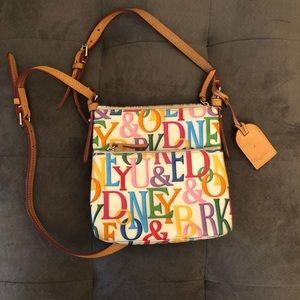 Rainbow Dooney & Bourke purse